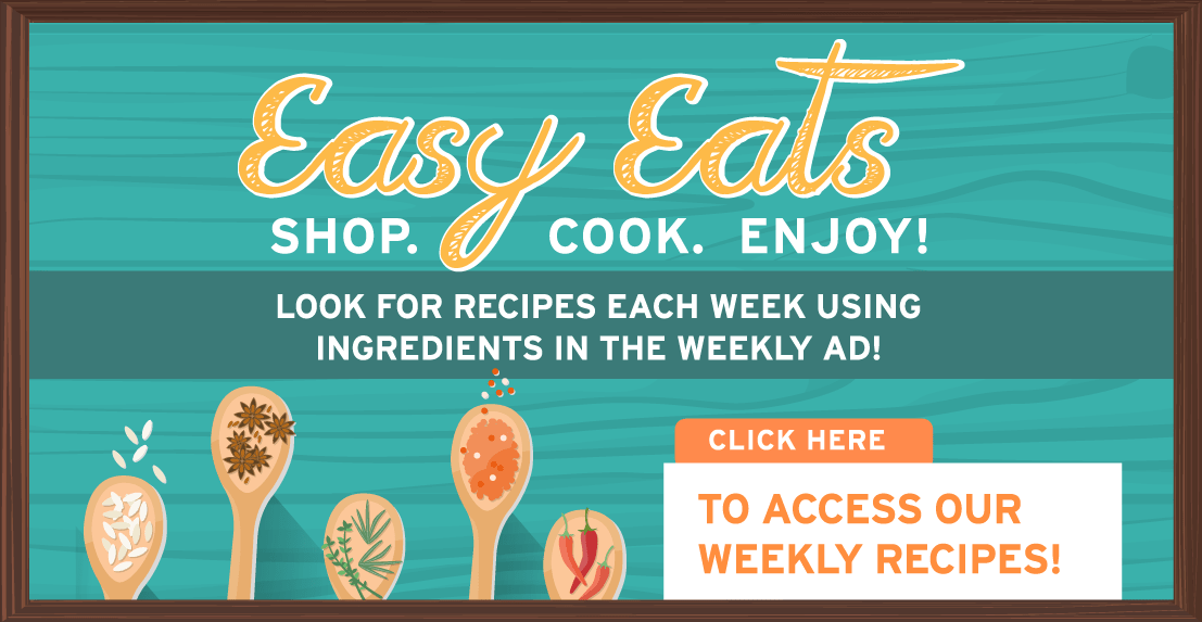 Easy Eats - Shop. Cook. Enjoy!